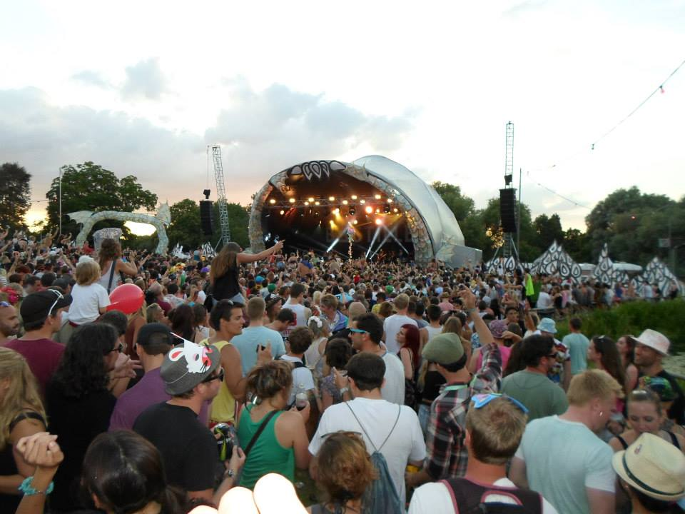 Glastonbury attracts the biggest crowds in the UK